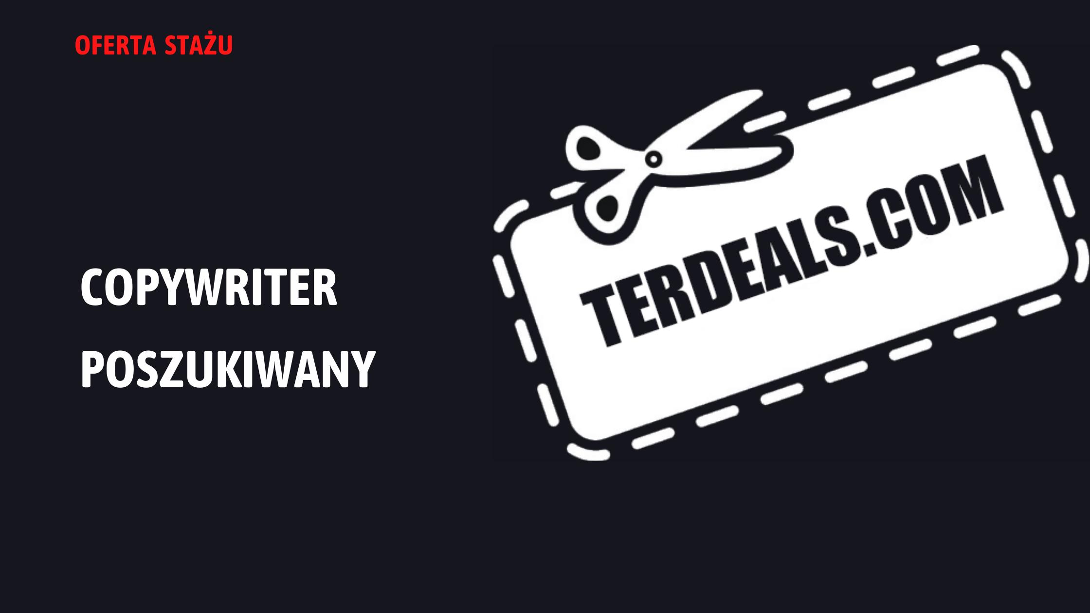 Staż copywriter w Terdeals